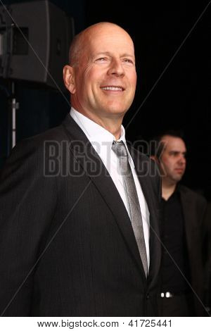 LOS ANGELES - JAN 31:  Bruce Willis at the 'A Good Day to Die Hard