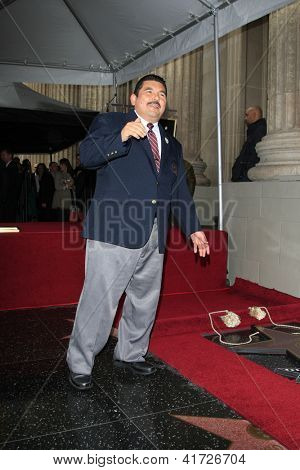 LOS ANGELES -JAN 25:  Guillermo Rodriguez at the Hollywood Walk of Fame ceremony for Jimmy Kimmel at Hollywood Boulevard, near Highland on January 25, 2013 in Los Angeles, CA.