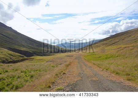 Rural Iceland Road