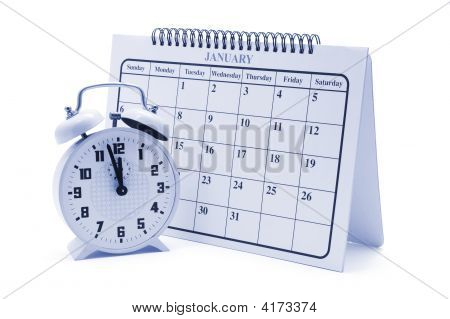 Alarm Clock And Calendar
