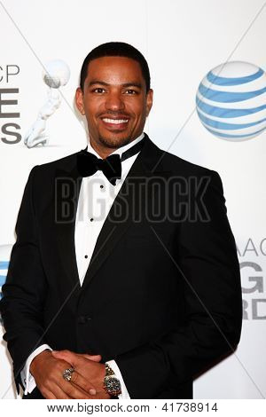 LOS ANGELES - FEB 1:  Laz Alonso arrives at the 44th NAACP Image Awards at the Shrine Auditorium on February 1, 2013 in Los Angeles, CA.