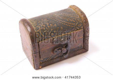 Arcón de madera Vintage