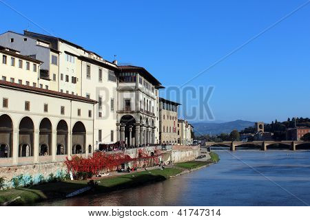 Uffizi Galerie, Florenz, Toskana, Italien