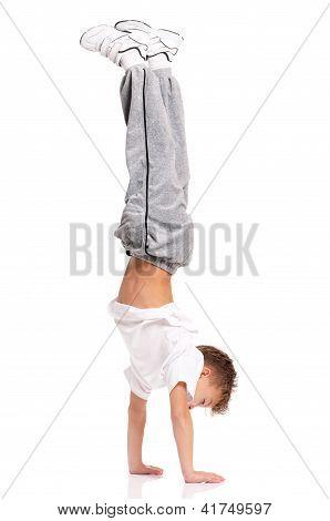 Boy gymnastic