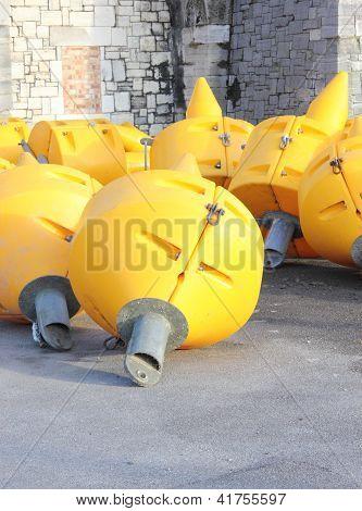 Large bouy's