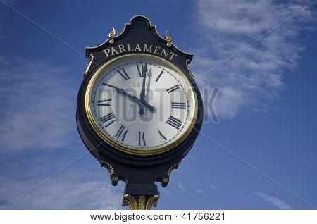city clock Bucharest