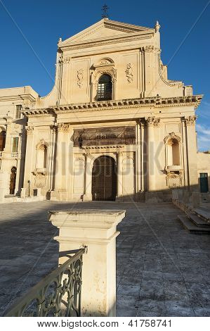 europe, italy, sicily, noto baroque church