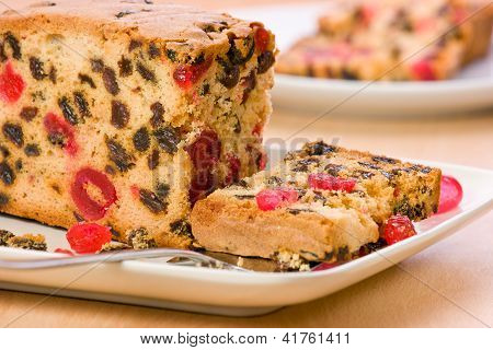 Fresh Fruit Cake.
