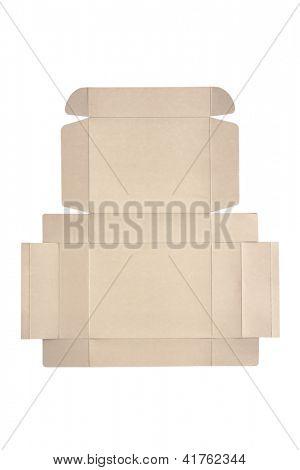 Photo of Die cut cardboard box