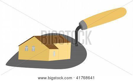 House On Trowel