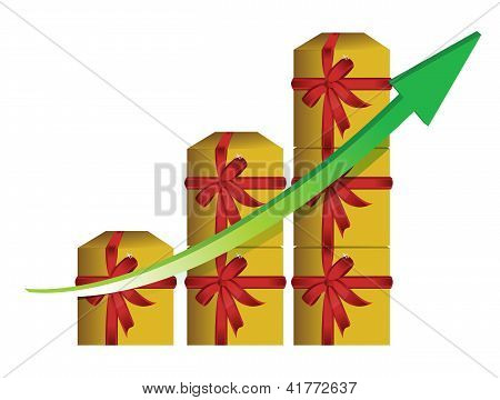 Gift Graphic Business Graph