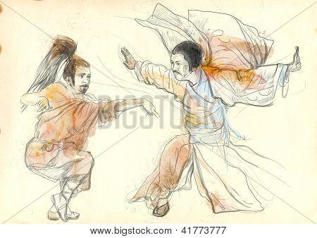kung fu warriors