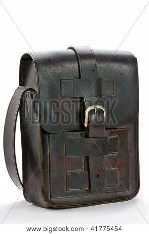 Old Leather Handbag