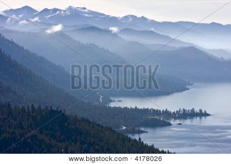 Hazy Blue Mountains