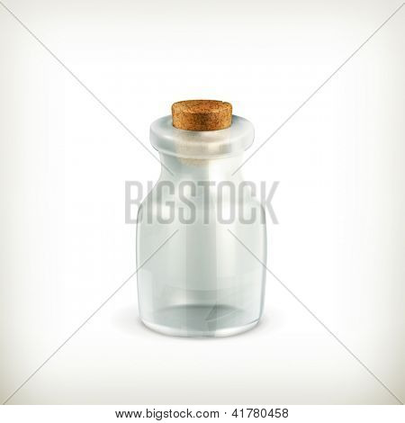 Empty jar, icon bitmap copy