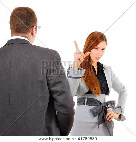 Blaming Your Boss