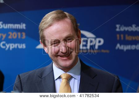 Taoiseach of Ireland Enda Kenny