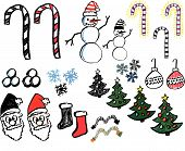 Hand Drawn Christmas Graphics