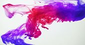 stock photo of ombre  - Ink in water - JPG