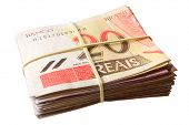 stock photo of brazilian money  - Photo of Twenty reais  - JPG