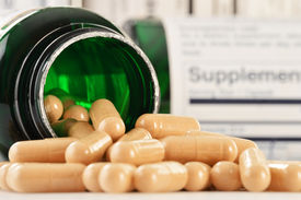 picture of prophylactic  - Composition with dietary supplement capsules - JPG