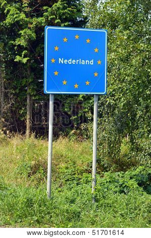 Border of The Netherlands