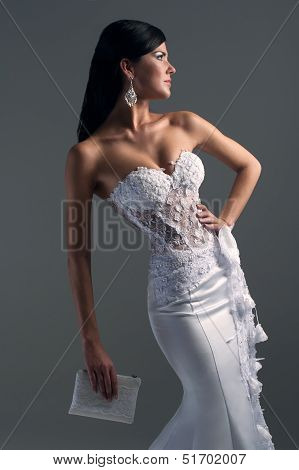 Luxe Bride In Form-fitting Dress, Catalog Photo