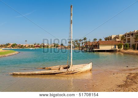 View Of El Gouna. Egypt