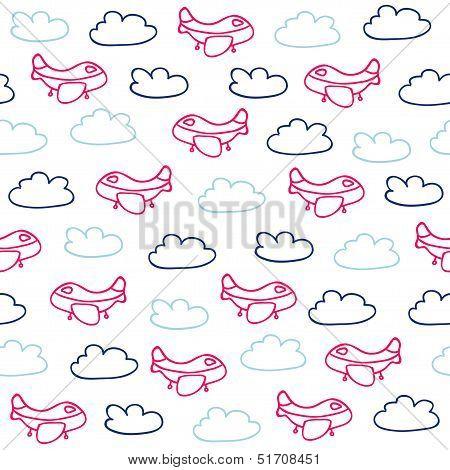 Funny sky pattern