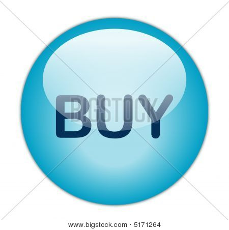 The Glassy Blue Buy Button