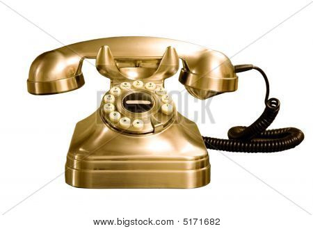 Telephone Isolated