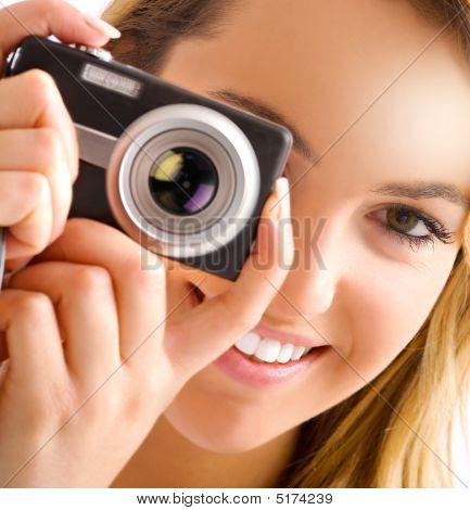 Auge und Kamera