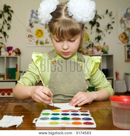 Young Talent In The Kindergarten