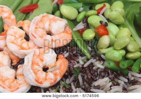 Shrimp And Bean Salad
