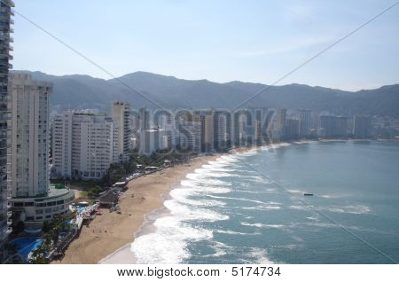 Ocean View Of Acapulco