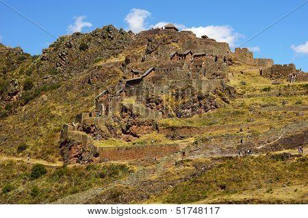 Pisac ruins, Cuzco, Peru