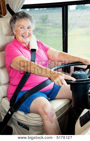 Rv Senior Lady Driver