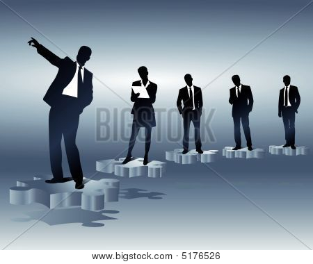 Business Team And Positions