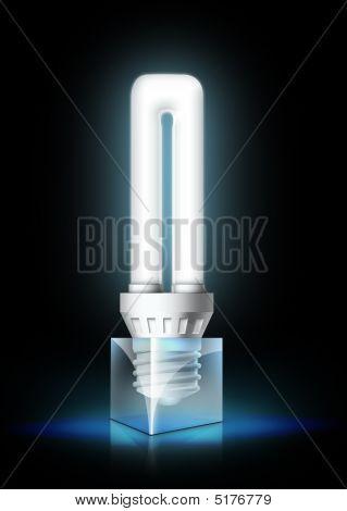 Lamptube black cube