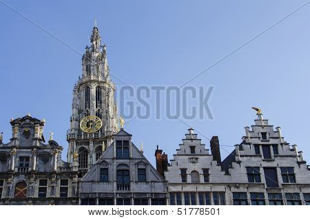 Center Of Antwerp
