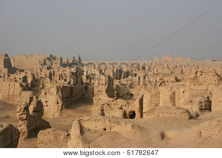Jiaohe Ancient Town on Silk Road