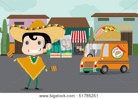 Tacoman And His Truck