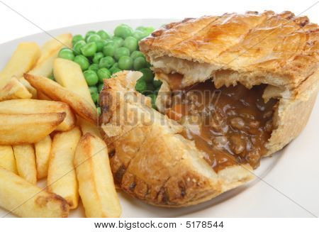 Beef & Vegetable Pie