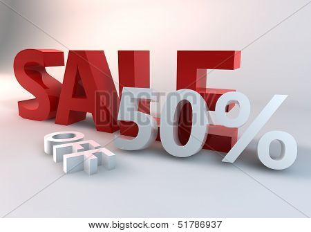 Red Sale 50% off