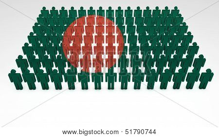 Bangladesh Flag Parade