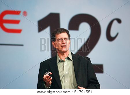 San Francisco, Ca, Sept 23, 2013 - Oracle  Senior Vice President Andy Mendelsohn Makes Speech At Ora