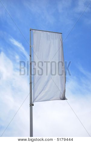 Empty Vertical Banner