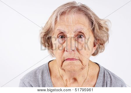 Senior Woman Face