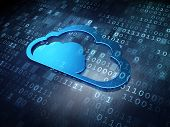 stock photo of social system  - Cloud technology concept - JPG