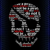 Do Not Be A Pirate, Concept Of Internet Piracy